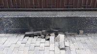 Высоковольтный кабель разорвался около посольства России в Киеве