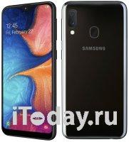 Samsung представила бюджетный смартфон Galaxy 20e