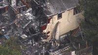 На дом в штате Нью-Йорк упал самолет