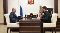 Путин пообещал Кадырову приехать вЧечню