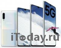 Samsung представил 5G смартфон среднего уровня – Galaxy A90 5G