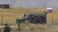 Курды насемь часов заблокировали конвой сроссийскими военными