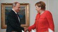 Путин иМеркель обсудили нормандский саммит иситуацию вСирии