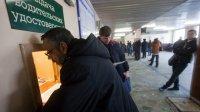 Россияне встали вочереди засправками дляводительских прав