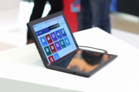 Lenovo представила первый в мире ноутбук с гибким экраном ThinkPad X1