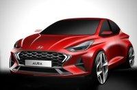 Новый седан Hyundai: опубликованы первые изображения