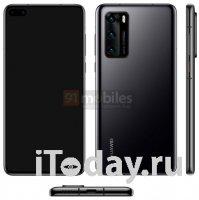 Новые рендеры смартфона Huawei P40