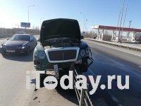 В Ростовской области женщина разбила Bentley Bentayga (видео)