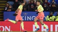 «Манчестер Сити» вырвал победу у«Лестера» вматче АПЛ