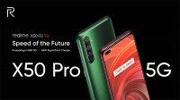 Представлен флагманский смартфон realme X50 Pro 5G