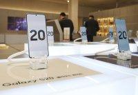 В Европе растет доля смартфонов Samsung