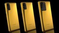 Смартфоны Galaxy S20, покрытые золотом массой 24 карат, поступили в продажу в Великобритании