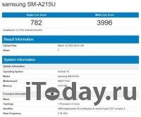 Смартфон Samsung Galaxy A21 будет комплектоваться чипсетом от MediaTek