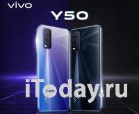 Характеристики и качественные рендеры Vivo Y50