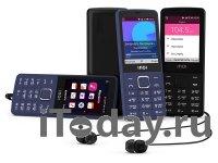 INOI 283K – кнопочный телефон на операционной системе KaiOS