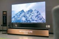 LG выпустила крупнейший в мире OLED телевизор