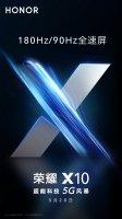 Honor X10 получит экран с частотой обновления изображения 90 Гц