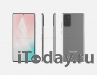 Утечка раскрыла дизайн смартфона Samsung Galaxy Note 20