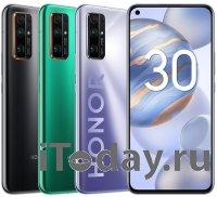 HONOR представил в России серию флагманских смартфонов HONOR 30