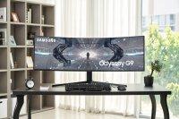 Samsung объявляет глобальный запуск последней версии игрового монитора Odyssey G9