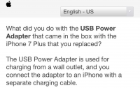 Apple опрашивает владельцев iPhone о том, как они используют зарядные устройства