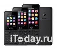 INOI выпустил линейку кнопочных телефонов с функцией обратной зарядки