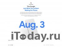 Официально: Google Pixel 4a представят 3 августа
