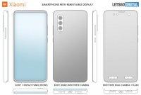 Xiaomi запатентовала смартфон со съемным дисплеем
