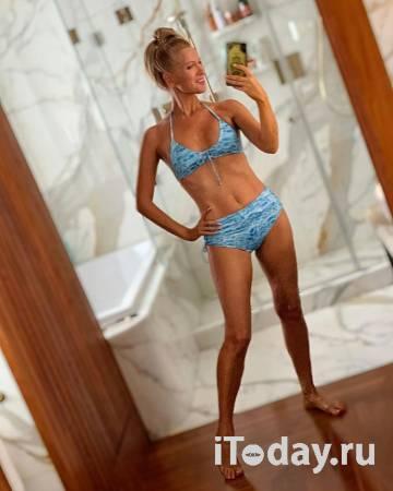 46-летняя Олеся Судзиловская похвасталась фигурой в бикини