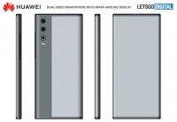 Huawei патентует смартфон с двусторонним изогнутым дисплеем