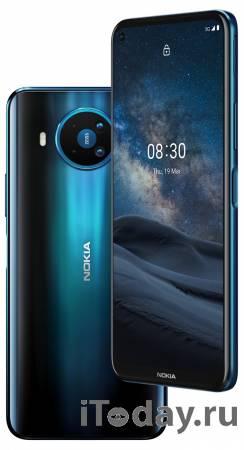 Представлен 5G смартфон среднего уровня Nokia 8.3 5G