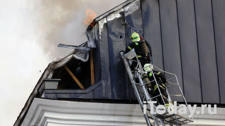 Открытое горение кровли строящегося дома в Петербурге ликвидировано - Недвижимость 29.09.2020