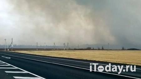 Горящий арсенал в Рязанской области тушат три пожарных поезда - 07.10.2020