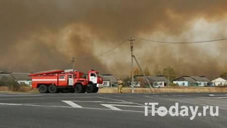 Пожар на складе под Рязанью локализовали - 08.10.2020