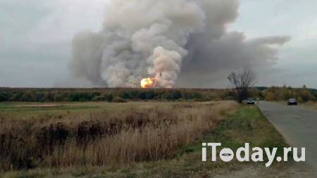 Пожар на военных складах в Рязанской области локализован - Радио Sputnik, 08.10.2020