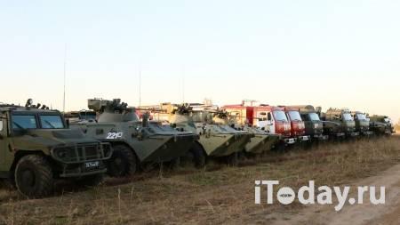 Группировка войск покинет потушенные склады под Рязанью - 09.10.2020