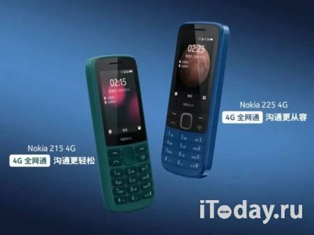 HMD Global представила кнопочные телефоны Nokia 215 4G и Nokia 225 4G