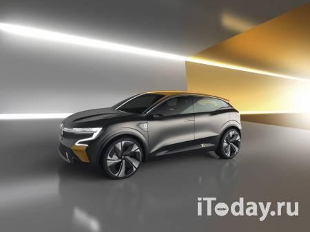 Megan eVision — основа для будущих серийных электромобилей Renault
