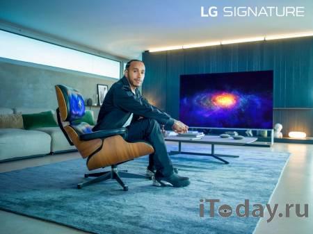 Льюис Хэмилтон стал послом бренда LG SIGNATURE