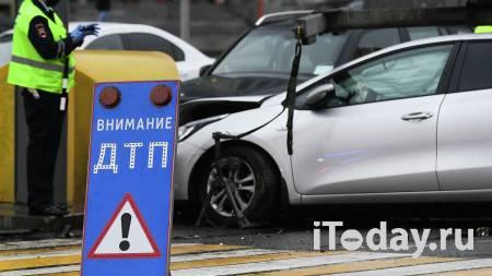 В Новой Москве произошло ДТП с участием автобуса - Радио Sputnik, 23.10.2020