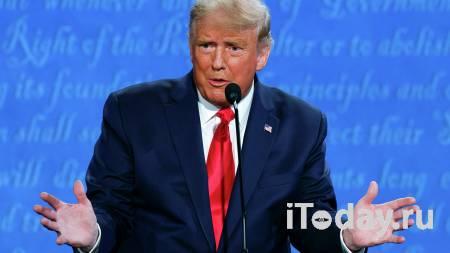 Трамп досрочно проголосовал на выборах президента США за самого себя - 24.10.2020
