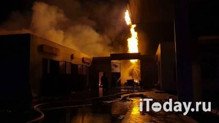 В чеченском Аргуне произошел пожар на АЗС - 24.10.2020