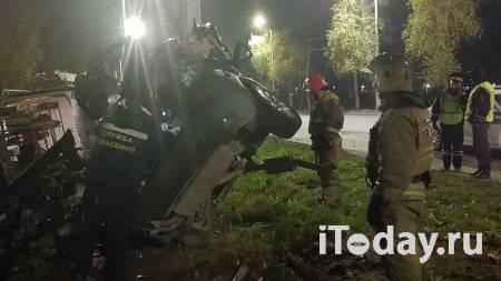 Под Иваново иномарка врезалась в столб, погибли четыре человека - 25.10.2020