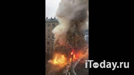 После возгорания в поликлинике в Челябинске поврежден соседний дом - 31.10.2020