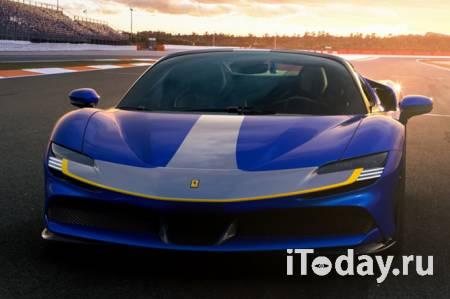 Ferrari представила самый крутой спайдер в истории