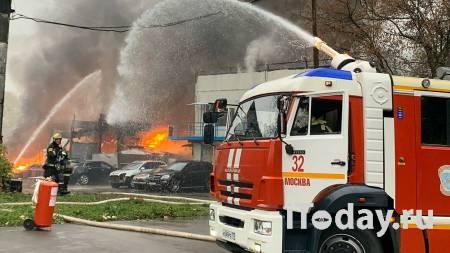 Прокуратура начала проверку после пожара на складе в Москве - 02.11.2020