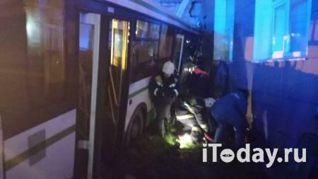 В центре Москвы перевернулась машина полиции - 05.11.2020