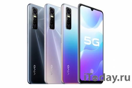 Смартфон Vivo S7e 5G поступил в продажу в Китае