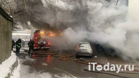 Пожарные локализовали возгорание на складе в московской промзоне - 22.11.2020