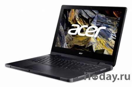 Компактный защищенный ноутбук Acer ENDURO N3 добрался до России